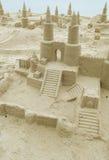 Sand Castles stock image