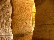Sand Caves Royalty Free Stock Photos