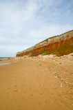 Sand and cliffs Stock Photo