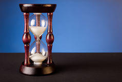 Sand clock Royalty Free Stock Images