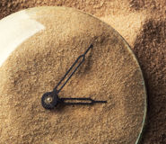 Sand clock Stock Photography