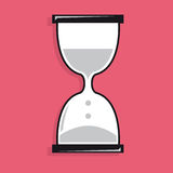 Sand clock icon Royalty Free Stock Photography
