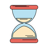 Sand clock time icon Royalty Free Stock Images