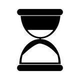 Sand clock time pictogram Royalty Free Stock Image