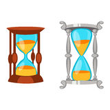 Sand clocks vector  Stock Images
