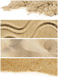 Sand collage Stock Photography