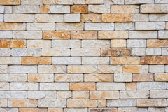 Sand color masonry stock image