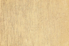 Sand-colored stucco texture Royalty Free Stock Image