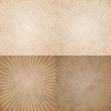 Sand-coloured pattern. Seamless yellow and white pattern curves Stock Image