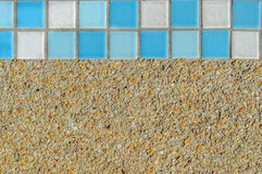 Sand concrete texture and mosaic Royalty Free Stock Images
