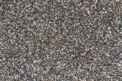 Sand on concrete wall Stock Image