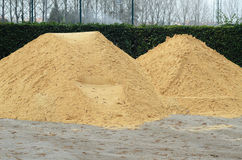 Sand for construction Royalty Free Stock Photos