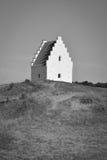 Sand-covered church, Skagen, Denmark Stock Images