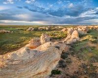 Sand Creek National Natural Landmark Stock Images