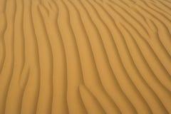 Sand der Wüste Lizenzfreie Stockfotografie