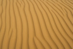Sand of desert Royalty Free Stock Photography