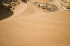 Sand at desert Royalty Free Stock Images