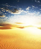 Sand desert Royalty Free Stock Photos