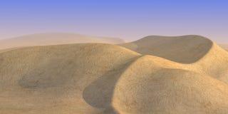 Sand desert in day Stock Image