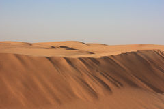 Sand in a desert and dunes Royalty Free Stock Image