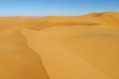 Sand desert dunes Stock Photography