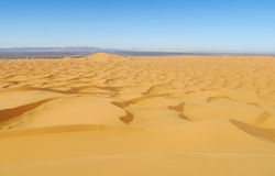 Sand desert dunes panorama royalty free stock photography