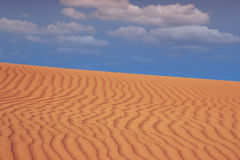 Sand desert landscape Royalty Free Stock Photo
