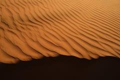 Sand desert landscape texture Royalty Free Stock Photography
