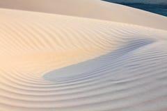 Sand desert and ocean Stock Photo