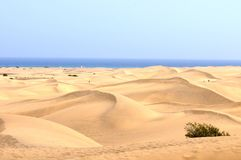 Sand Desert Royalty Free Stock Photo