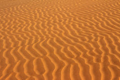 Sand in desert ripple background Stock Images
