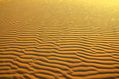 Sand in desert ripple background Stock Photo