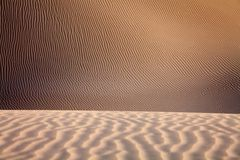 Sand desert surface Royalty Free Stock Photos