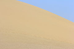Sand in the desert Royalty Free Stock Image