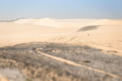 Sand desert Royalty Free Stock Photo