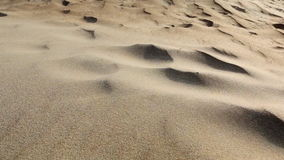 Sand, desert, wind Royalty Free Stock Photo