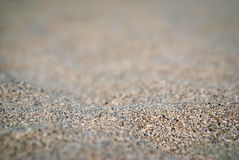 Sand detail. Close up of a small sand dune Royalty Free Stock Photos