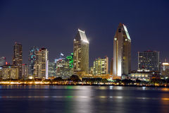 Sand Diego skyline Stock Photo