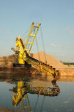 Sand dredger Stock Photos