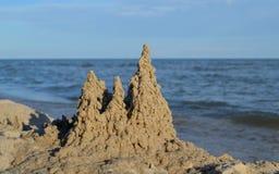 Free Sand Drip Castle Baltic Sea Stock Photo - 130639090
