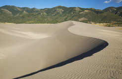 Sand Dund Curve Royalty Free Stock Image