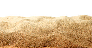 Sand dune. Detail of a sand dune in the hot dry desert Royalty Free Stock Images