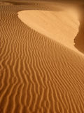 Sand dune. Patterns in the sand at Coral Pink Sand Dunes State Park Utah Stock Image