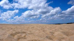 Free Sand Dune And Blue Sky With Clouds Royalty Free Stock Images - 78837069