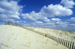 Sand Dune, Assateague National Wildlife Refuge, Virginia Stock Photos