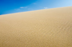 Sand dune, background Royalty Free Stock Photos