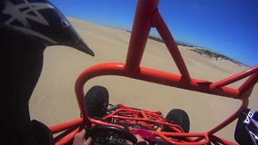Sand Dune Buggy Action POV 3. 