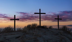 Sand Dune Calvary Royalty Free Stock Images