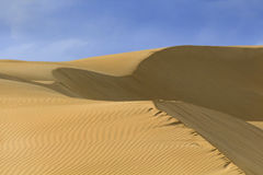 Sand Dune Close Structure Royalty Free Stock Photo