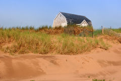 Sand Dune Cottage Stock Photography